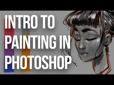 Introduction to Painting in Photoshop || artofpan