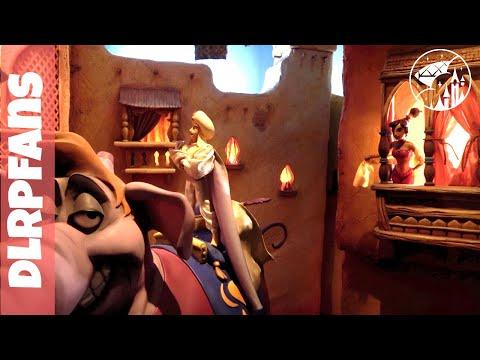 Weird walkthrough attractions at Disneyland Paris