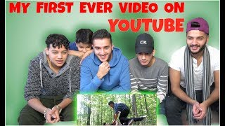 *MY FIRST EVER VIDEO ON YOUTUBE* (Reacting with all my brothers)