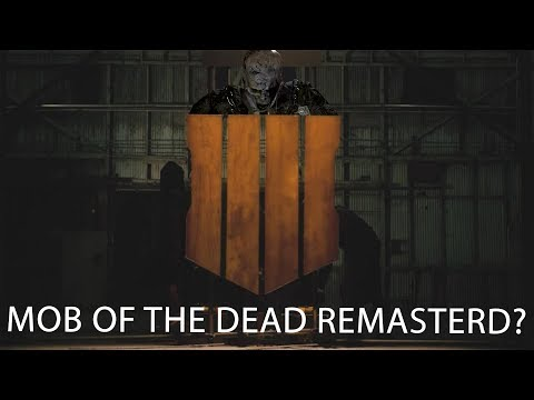 Call of Duty Black Ops 4 Reveal Trailer is Here | Mob of the Dead Remastered Coming to Black Ops 4?