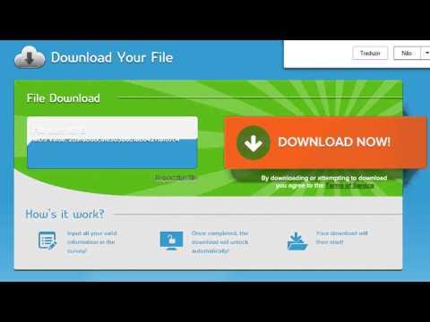 Como Remover Survey de Download, como desbloquear link