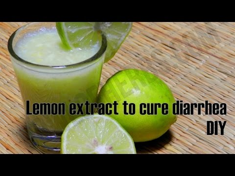 Recipe of Lemon Extract To Cure Diarrhea Naturally At Home | Bowl Of Herbs