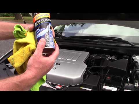 Armor All Ultra Shine Spray Wash In Engine Bay - Game Changer!
