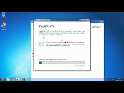 How to install Kaspersky Internet Security (2015) - The Laptop Shop Tutorials