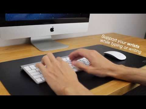 Satechi Desk Mat & Mate - Desk Pad & Protector Mouse Pad for Desktops and Laptops