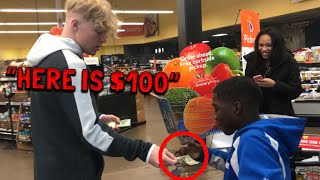 Giving Money To Random People!
