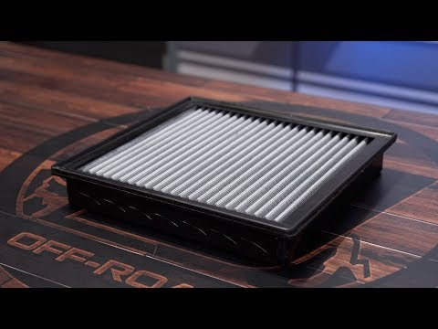 F-150 aFe Air Filter Magnum Flow Pro Dry-S Replacement 2009-2017/Raptor 2010-2017