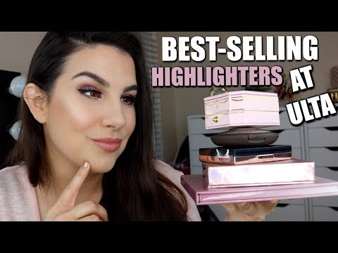 REVIEW: Ulta's TOP 5 BEST-SELLING HIGHLIGHTERS