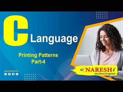 Printing Patterns in C - Part 4 | C Language Tutorial