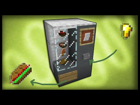 Minecraft: How to make a working vending machine