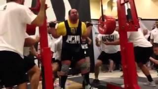 Andrey Malanichev All Time Wr Squat 460kg Raw