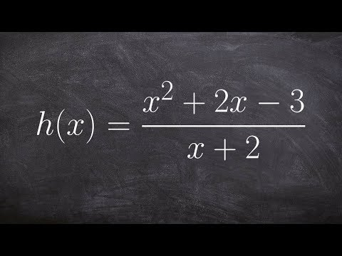 Learn How to Find Vertical, Horizontal and Slant Asymptotes of a Rational Function