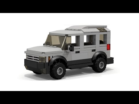 LEGO Land Rover Style 4x4 car instructions