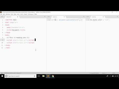 Javascript tutorial - Basic file dependancy in javascript - Bangla
