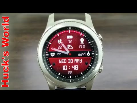 Gear S3 Solo Watch Face Review