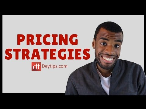 Competitive pricing strategy & pricing strategy examples