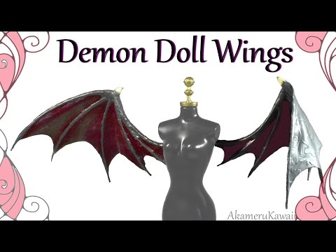 How to; Demon Doll Wings Tutorial