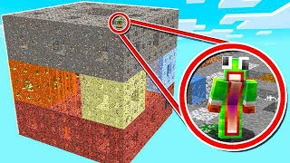 Download SURVIVING ON THE WORLD'S LARGEST MINECRAFT CUBE! Video