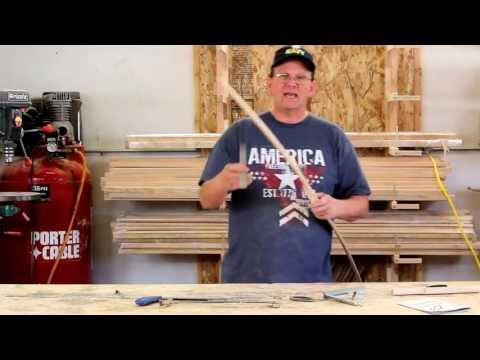 Solid Hickory Longbow Built Using a Rudder Bow Kit - Part 2