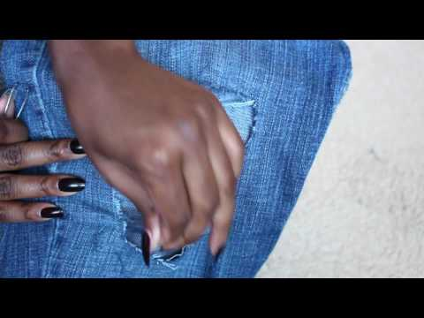 DIY Ripped Jeans! | Distressed Jeans Tutorial