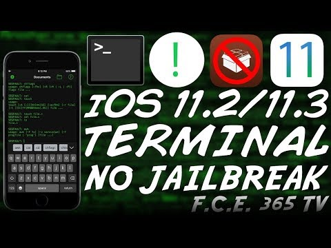 iOS 11.2/11.3 How to Install a Legit TERMINAL Without JAILBREAK