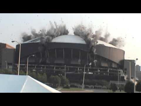 Market Square Arena Demolition - Indianapolis, Indiana