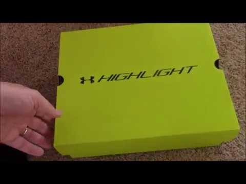 Unboxing UNDER ARMOUR Highlight football lacrosse cleats