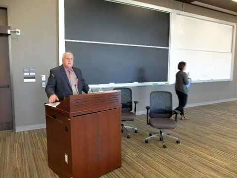 International Wrongful Conviction Day 2017: Ron Dalton, exoneree, spoke at the U of T Faculty of Law