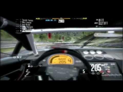 Lamborgini Gallardo LP-560 race on Nürburgring