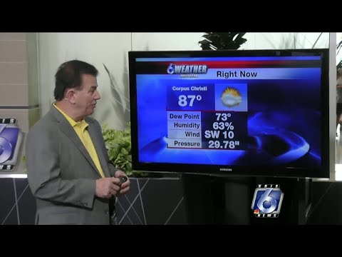 Coastal Bend Weather, May 29, Noon