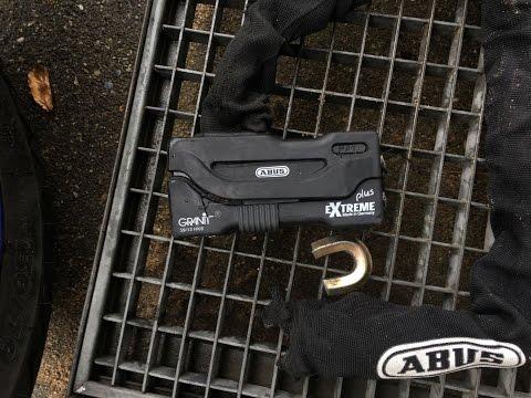 Abus Lock GRANIT Extreme Plus 59  Angle Grinder Test