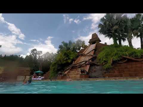 Disney's Coronado Springs Resort Pool Area - 9/4/17