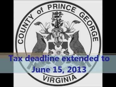 Tax Deadline extension 2013