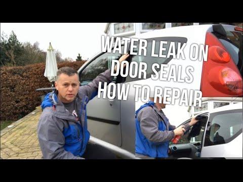 Door Seal Water Leak, How To Repair Peugeot 107 Toyota AYGO Citroen C1
