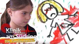 Wegen Ballerspielen auf der Konsole? Alicia (7) malt ihre Eltern tot!   Die Familienhelfer   SAT.1