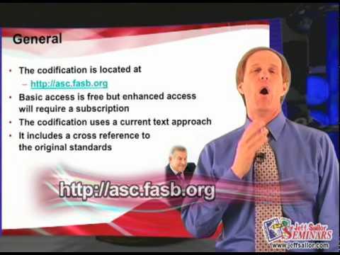 FASB Codification Part 1