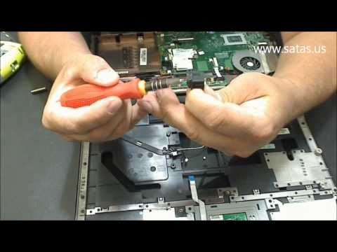 Toshiba Satellite A205 Power Jack Repair, AC Adapter problem fix