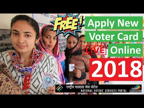 Shift Voter Id Card | Apply New Voter Card Online For Free 2018