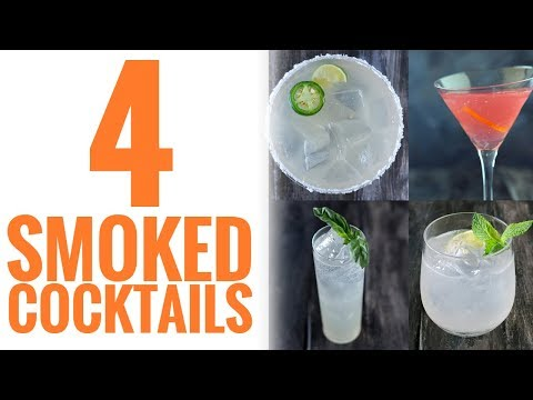 How to Smoke Simple Syrup for Smoked Cocktails