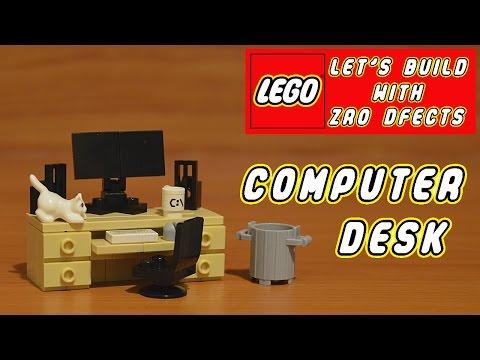 Lego Let's Build - Computer Desk
