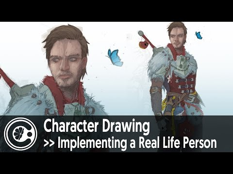 Character Drawing | Implementing a Real Life Person (Felix Arvid Ulf Kjellberg)