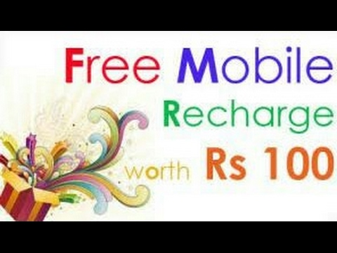 Free Mobile Recharge (Rs 100-200 Daily)