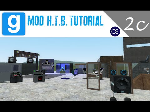 [Gmod] How to Build Tutorial 2c: Auto Hydraulic Door - Chat Controlled Security