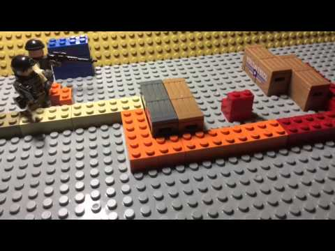 CS:GO Lego stopmotion: Mission