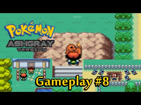 Pokemon Ash Gray (GBA) - Charmander, Bulbasaur e Squirtle | Gameplay PT-BR 720p