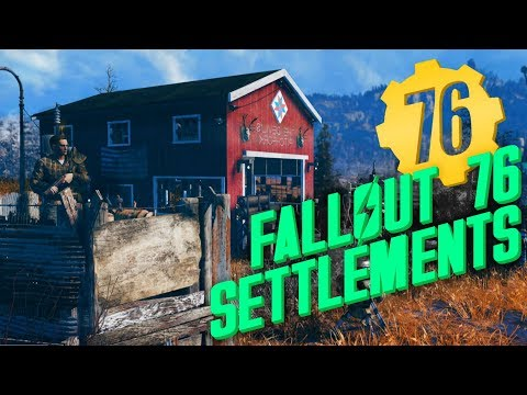 How settlements will work in Fallout 76... Maybe?