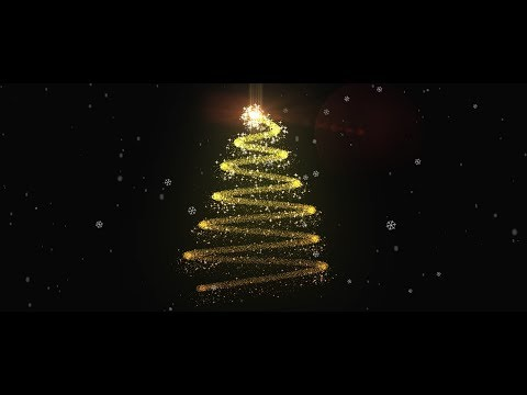 Christmas Tree Animation in After Effects - After Effects Tutorial - No Third Party Plugin