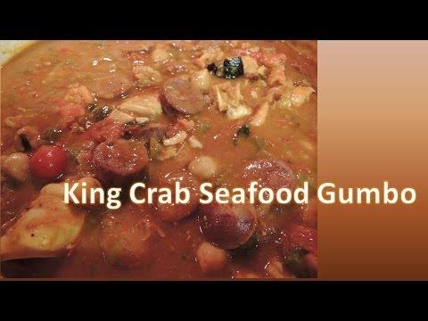 King Crab Seafood Gumbo