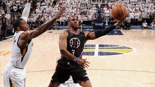 Clippers Force Game 7 on the Road! CP3 29 Points 8 Asts! Clippers Jazz Game 6