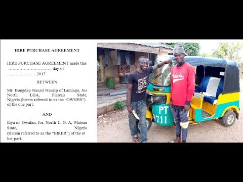 Daily Balance Vs Hire Purchase Agreement in Tricycle Business (Keke Napep) in Nigeria